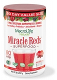 MacroLife Naturals Miracle reds superfood (60 porcí) 567 g