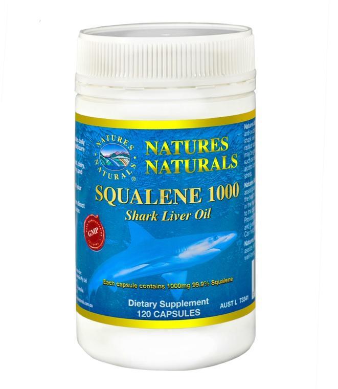 Australian Remedy Squalene 1000 120 kps (Olej ze žraločích jater)