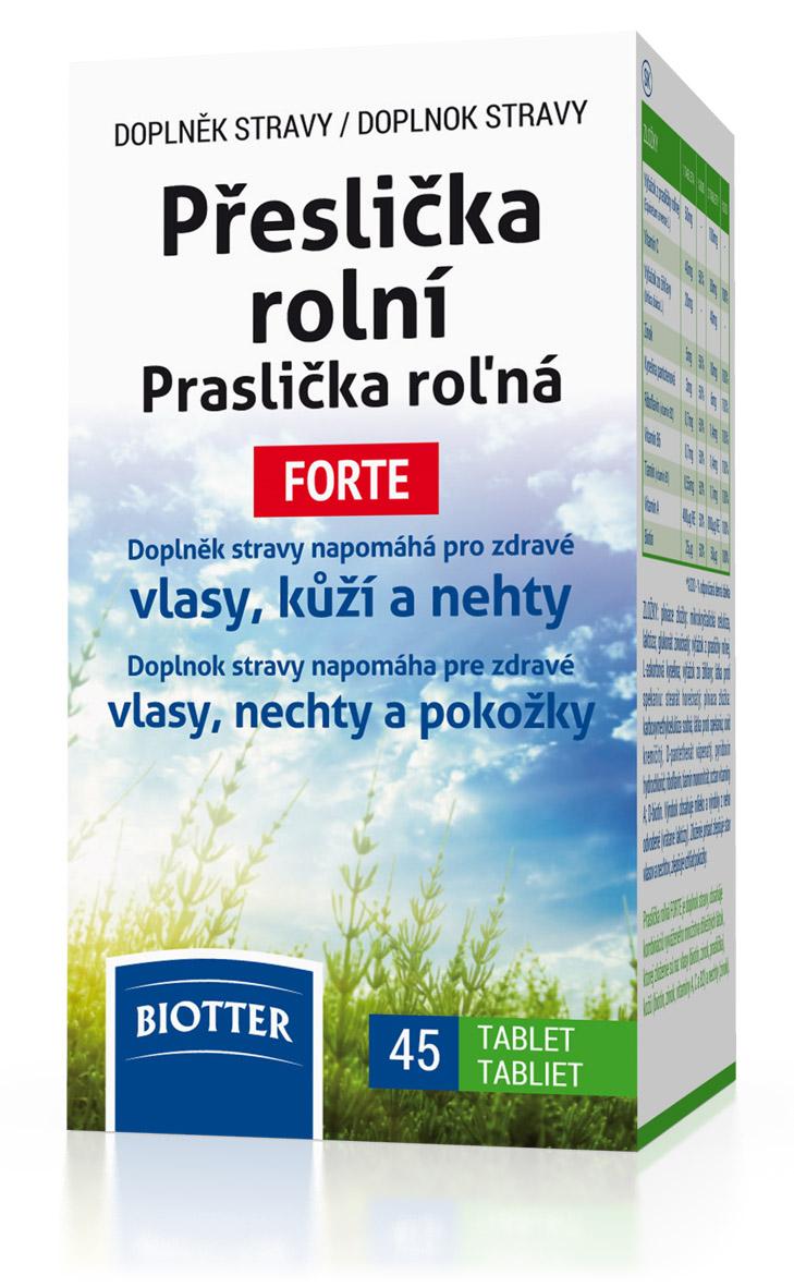 Biotter Přeslička rolní FORTE 45 tbl.