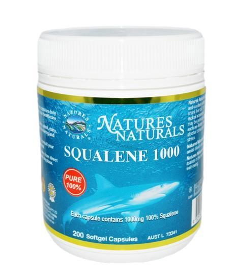 Australian Remedy Squalene 1000 - olej ze žraločích jater - 200 kps