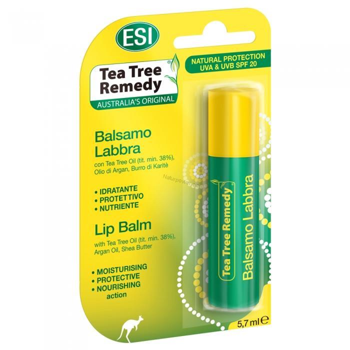 ESI Balzám na rty s čajovníkovým olejem