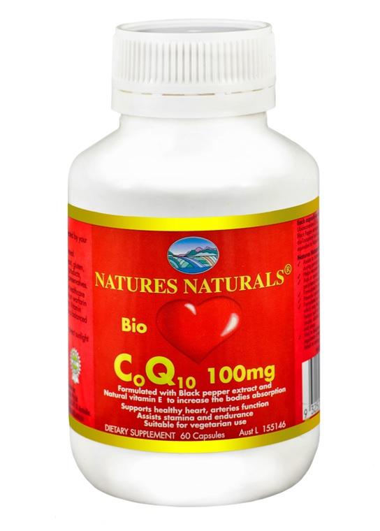 Australian Remedy Bio CoQ10 (koenzym Q10) 100mg - 60 kapslí