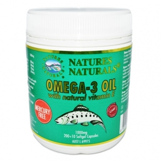 Australian Remedy Omega-3 1000 mg 200+10 kaps