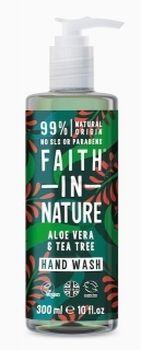 Faith in Nature antibakteriální tekuté mýdlo Aloe Vera a Tea Tree 400ml